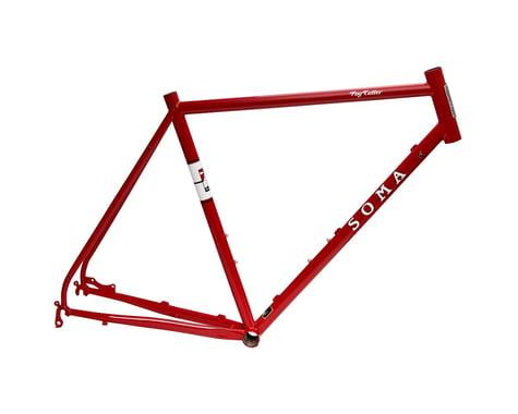 Soma Fog Cutter Road Frame (Rosso Red)
