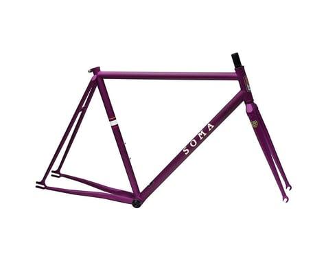 Soma Rush Track Frame/Fork (Matte Purple) (53cm)