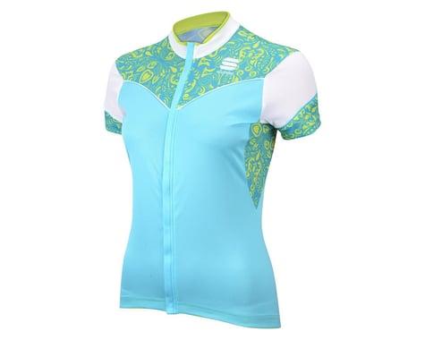 Sportful Women's Primavera Short Sleeve Jersey (Black/Grey)