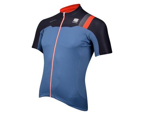 Sportful BodyFit Pro Team Short Sleeve Jersey (Blue/Black) (Xxxlarge)
