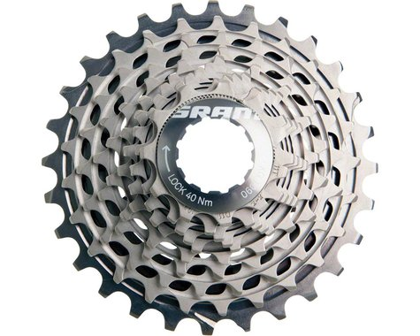 SRAM Red XG-1090 X-Dome 10-Speed Cassette (Silver) (11-28T)