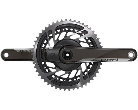SRAM Red AXS Power Meter Crankset (Black) (2 x 12 Speed) (DUB Spindle) (170mm) (46/33T)