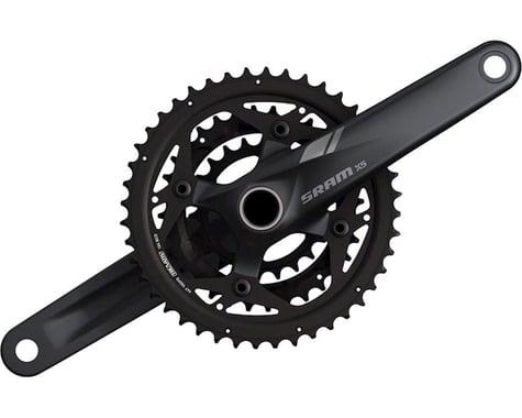 SRAM X5 Crankset (Black) (3 x 9 Speed) (GXP Spindle) (175mm) (44/42/22T)