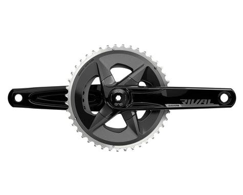 SRAM Rival AXS Wide Crankset (Black) (2 x 12 Speed) (DUB Spindle) (D1) (165mm) (43/30T)