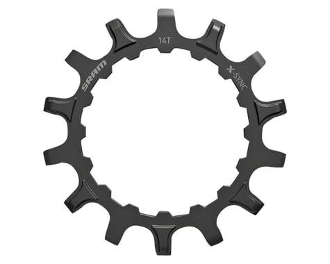 SRAM Steel X-Sync EX1 Sprocket (Black) (For Bosch Motors) (14T)