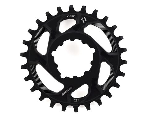 SRAM X-Sync Direct Mount Chainring (6mm Offset) (26T)