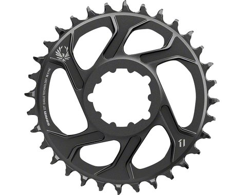 SRAM X-Sync 2 Eagle Direct Mount Chainring (Black) (-4mm Offset) (30T)