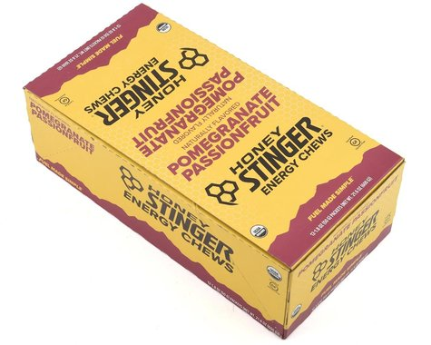 Honey Stinger Organic Energy Chews (Pomegranate Passion) (12   1.8oz Packets)