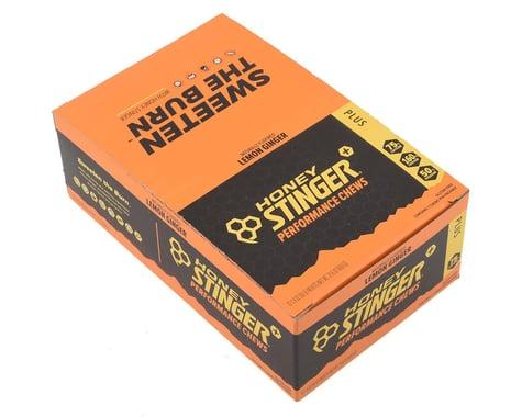 Honey Stinger PLUS+ Performance Chews (Lemon Ginger) (12 1.8oz Packets)