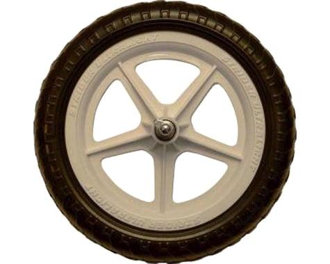 "Strider Sports Ultralight 12"" Replacement Wheel (White) (Single)"
