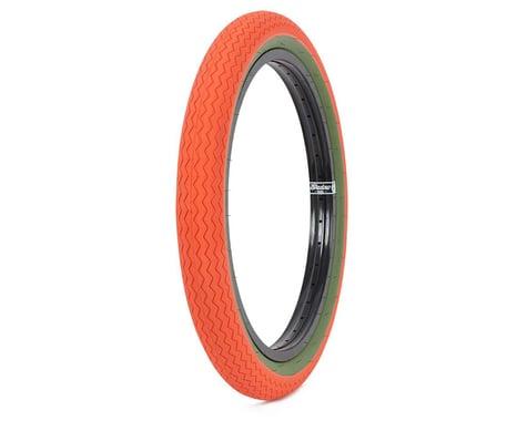 Subrosa Sawtooth Tire (Hunter Orange/Army Green)