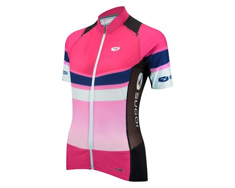 Sugoi Women's RSE Short Sleeve Jersey - 2016 (Pink)