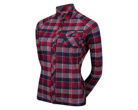 Sugoi Women's Evolution Plaid Long Sleeve Jersey (Plaid)