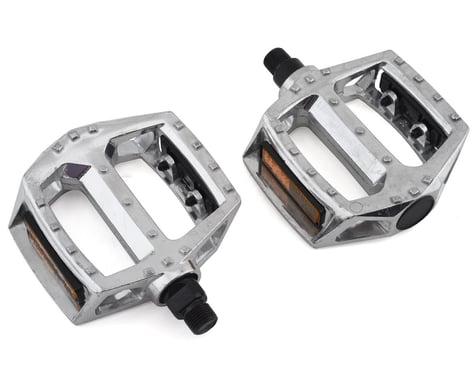 """Sunlite MX Alloy Platform Pedals (Silver) (9/16"""")"""