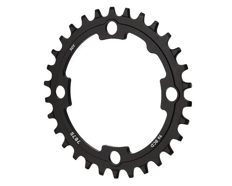Sunrace CRMX0 Alloy Chainring (Black) (96mm BCD)