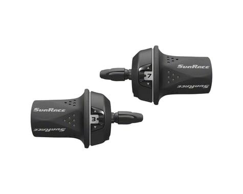 Sunrace M21 Twist Shifter Set (Grey)