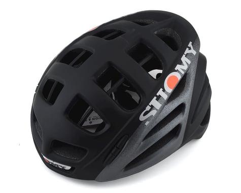 Suomy Gun Wind Elegance Helmet (Black/Matte Silver)