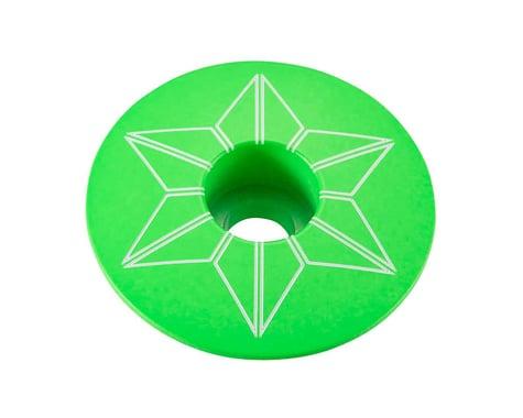 Supacaz Star Cap (Neon Green)