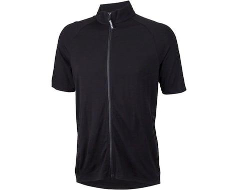 Surly Merino Wool Lite Men's Short Sleeve Jersey (Black)