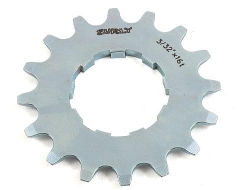 """Surly Single Speed Splined Cog (Silver) (3/32"""") (16T)"""