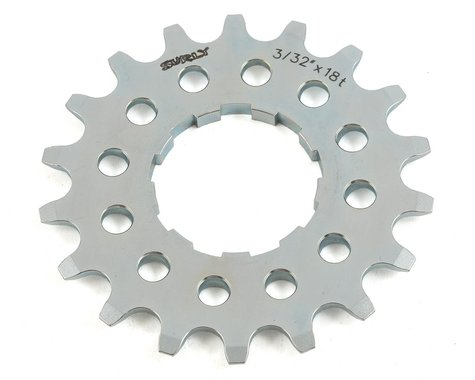 """Surly Single Speed Splined Cog (Silver) (3/32"""") (18T)"""