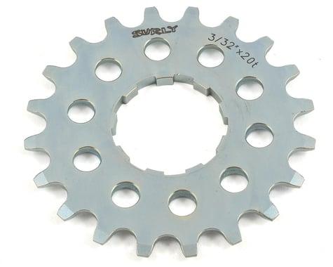 """Surly Single Speed Splined Cog (Silver) (3/32"""") (20T)"""