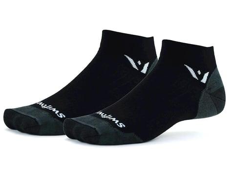 Swiftwick Pursuit One Ultralight Socks (Black) (M)