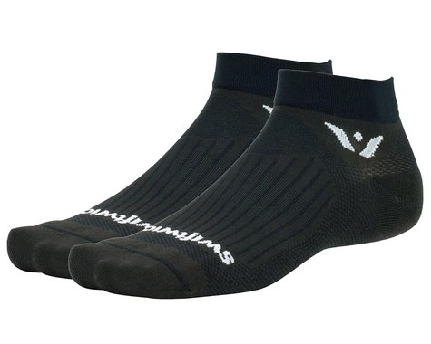 Swiftwick Aspire One Socks (Black) (S)