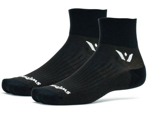 Swiftwick Performance Two Socks (Black) (M)