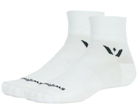 Swiftwick Aspire Two Socks (White) (XL)