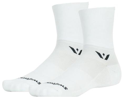 Swiftwick Aspire Four Socks (White) (L)