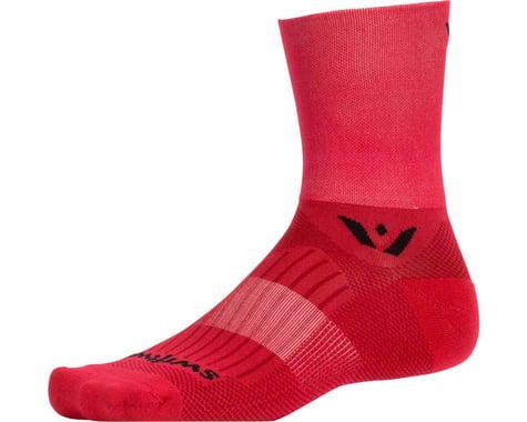 Swiftwick Aspire Four Socks (Red) (S)