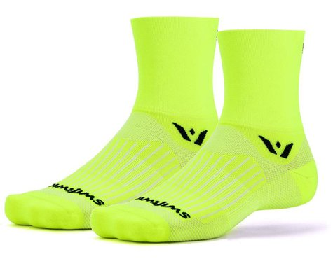 Swiftwick Aspire Four Socks (Hi-Vis Yellow) (S)