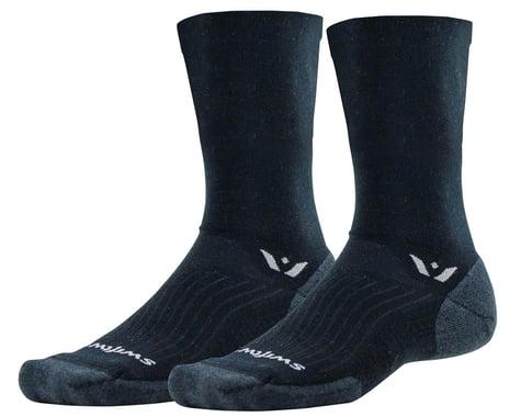 Swiftwick Pursuit Seven Socks (Black) (M)