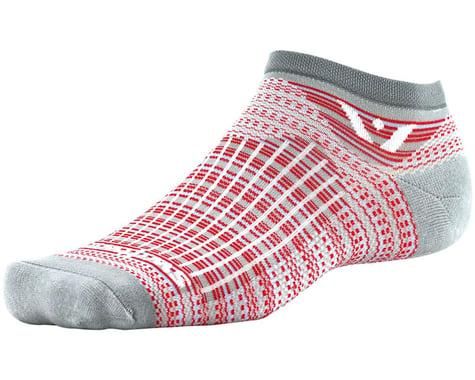 Swiftwick Aspire Stripe Zero Socks (Pewter/Red)