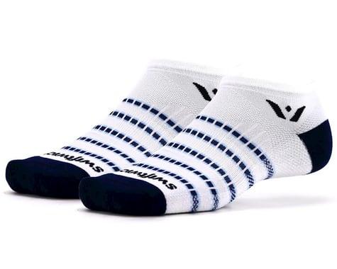 Swiftwick Aspire Zero Socks (White/Navy) (S)