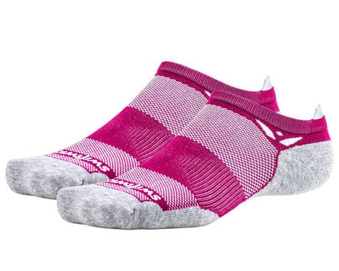 Swiftwick Maxus Zero Tab Socks (Berry) (S)