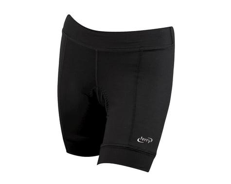 Terry Women's Actif Shorts (Black)