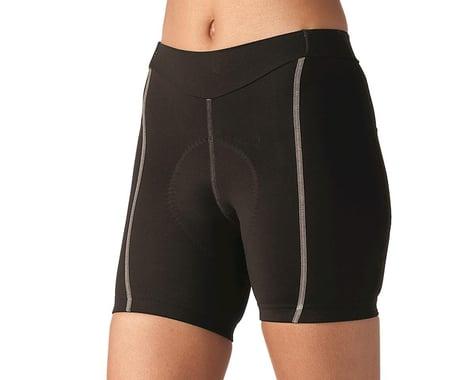 Terry Women's Bella Short (Black/Grey) (Short Inseam) (XS)