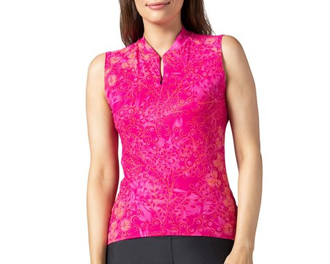 Terry Women's Soleil Sleeveless Jersey (Hydrange/Beetroot) (XL)