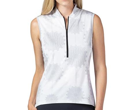 Terry Women's Breakaway Mesh Sleeveless Jersey (Retrogear/White) (L)