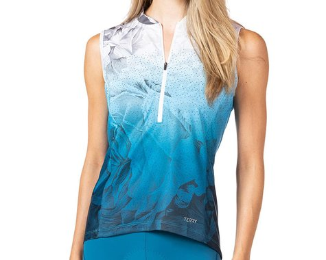 Terry Women's Breakaway Mesh Sleeveless Jersey (Into The Blue) (S)