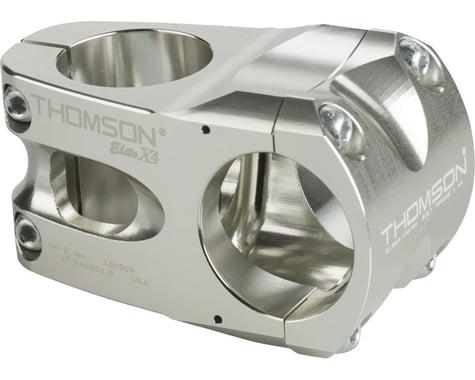 Thomson Elite X4 Mountain Stem (Silver) (31.8mm) (40mm) (0°)