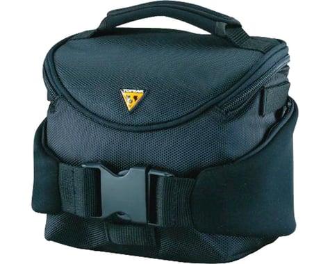 Topeak Compact Handlebar Bag/Fanny Pack w/ Fixer 8 (Black)