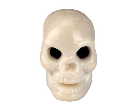 Trik Topz Valve Caps Trick Top Skull Only White