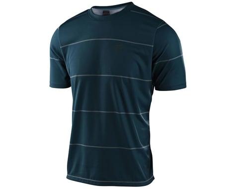Troy Lee Designs Flowline Short Sleeve Jersey (Stacked Light Marine) (S)