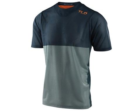Troy Lee Designs Skyline Air Short Sleeve Jersey (Breaks Marine) (S)