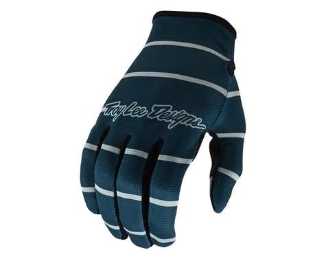 Troy Lee Designs Flowline Gloves (Stripe Blue Grey) (S)