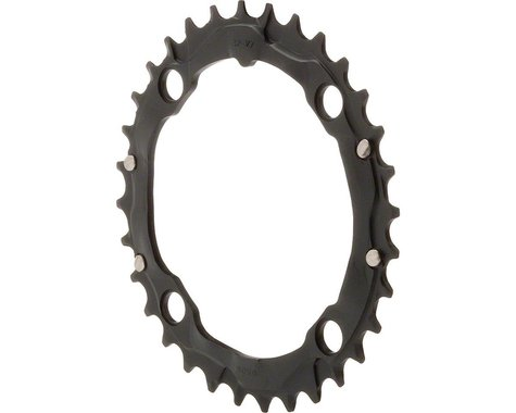 Truvativ Trushift Aluminum Chainring (Black) (104mm BCD) (Offset N/A) (32T)