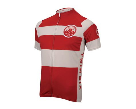 Twin Six Speedy Ventoux Short Sleeve Jersey (Wh/Red)